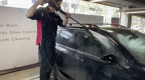 スバル 洗車